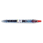 B2P Bottle-2-Pen Recycled Retractable Gel Ink Pen, Red Ink, .7mm PIL31602