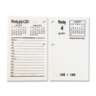 7510015453775 Core Daily Desk Calendar Refills, White, 2014 NSN5453775
