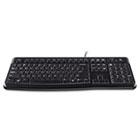 K120 Ergonomic Desktop Keyboard, USB, Black LOG920002478