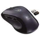 M510 Wireless Mouse, Three Buttons, Silver LOG910001822