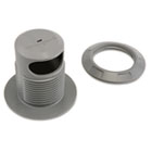 Grommet Hole Cable Anchor, Gray KMW64612