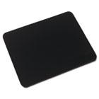 Natural Rubber Mouse Pad, Black IVR52448