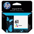 HP 61, (CH562WN) Tri-color Original Ink Cartridge HEWCH562WN