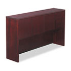 Verona Veneer Series Storage Hutch With 4 Doors, 65w x 15d x 36-1/2h, Mahogany ALERN266615MM