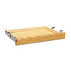 Laminate Angled Center Drawer, 26w x 15-3/8d x 2-1/2h, Harvest HON1526C
