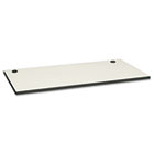 Huddle Multipurpose Rectangular Top w/Grommets, 60w x 30d, Silver Mesh/Charcoal HONM3060GGB9S