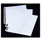 Swing Ring Sheet Protectors, Clear, 10/Pack GBC20105