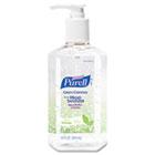 Green Certified Instant Hand Sanitizer Gel, 12 oz Pump Bottle, Clear GOJ369112CT