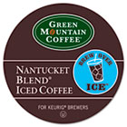 Brew Over Ice Nantucket Blend Iced Coffee K-Cups, 22/Box GMT6831