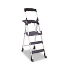 Worlds Greatest Work Platform, 300lbs Cap, Aluminum/Resin, Black CSC11003ABL1
