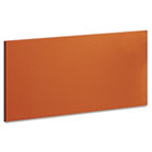 "Momentum Collection Tackboard for 36"" Hutch, 30-7/8w x 5/8d x 14-7/8, Orange BSH34TB1OR"