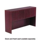 Valencia Series Hutch Doors, Laminate, 14w x 3/4d x 15h, Mahogany, 4/Set ALEVA291430MY