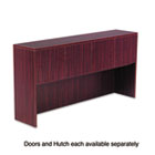 Valencia Series Hutch Doors, Laminate, 17w x 3/4d x 15h, Mahogany, 4/Set ALEVA291730MY