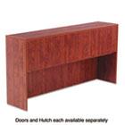 Valencia Series Hutch Doors, Laminate, 17w x 3/4d x 15h, Medium Cherry, 4/Set ALEVA291730MC