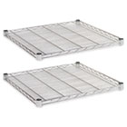 Industrial Wire Shelving Extra Wire Shelves, 24w x 24d, Silver, 2 Shelves/Carton ALESW582424SR