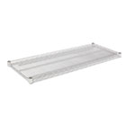 Industrial Wire Shelving Extra Wire Shelves, 48w x 18d, Silver, 2 Shelves/Carton ALESW584818SR