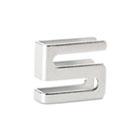 Wire Shelving S Hooks, Metal, Silver, 4 Hooks/Pack ALESW59SHSR