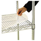 Shelf Liners For Wire Shelving, Clear Plastic, 48w x 18d, 4/Pack ALESW59SL4818