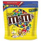 Milk Chocolate Coated Candy w/Peanut Center, 42oz Pack MNM32437