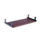 Valencia Series Underdesk Keyboard/Mouse Shelf, 28w x 12d, Mahogany ALEVA312812MY