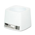Holder for Toilet Bowl Brush, White Plastic RCP631100WE