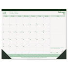 EcoLogix Monthly Desk Pad Calendar, 22 x 17, 2016 REDC177437