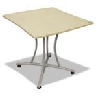 Trento Line Palermo Table, 33w x 31-1/2d x 29-1/2h, Oatmeal LITTR702OAT