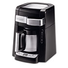 10-Cup Frontal Access Coffee Maker, Black DLODCF2210TTC