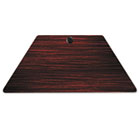 Valencia Series Training Table Top, Trapezoid, 47-1/4w x 23-5/8d, Mahogany ALEVA72TZ4824MY