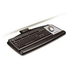 Sit/Stand Easy Adjust Keyboard Tray, Standard Platform, 25-1/2w x 12d, Black MMMAKT170LE