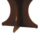 Valencia Series Base Kit, Sculpted Leg, 29-1/2w x 28-1/2h, Mahogany ALEVA732815MY
