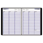 "Recycled Weekly Appointment Book, Black, 8"" x 11"", 2013 AAGG52000"