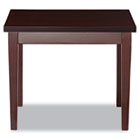 Verona Series Occasional Tables, 20w x 24d x 20h, Mahogany ALERN752024MM