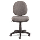 Interval Swivel/Tilt Task Chair, 100% Acrylic with Tone-On-Tone Pattern, Gray ALEIN4841