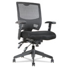 Epoch Series High Performance Multifunction Chair, Mesh Back/Seat, Black ALEEP4217