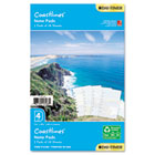 Coastlines Notepads w/Four Designs, 5-1/2 x 8-1/2 DTM13188