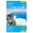 Coastlines Notepads w/Four Designs, 5-1/2 x 8-1/2 DTM13188