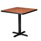 "Hospitality Table ""X"" Pedestal Base, 28"" High, Black MLNCA28B2025"