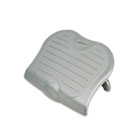 7195015909070 Kensington SKILCRAFT SoleSaver Ergonomic Adjustable Footrest, Gray NSN5909070