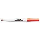 Great Erase Bold Pocket Style Dry Erase Markers, Fine Point, Red, Dozen BICDECF11RD