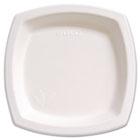 """Bare Eco-Forward Dinnerware, 8 1/4"""" Plate, Ivory, 125/Pack SLO8PSC2050PK"""