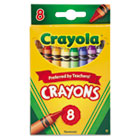 Classic Color Pack Crayons, 8 Colors/Box CYO523008