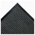 Needle Rib Wipe & Scrape Mat, Polypropylene, 36 x 60, Gray CWNNR0035GY