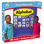 Alphabet Cards for Pocket Chart, 4 x 2 3/4, 102 Cards, Ages 4-5 CDP158151
