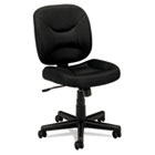 VL210 Series Mesh Low-Back Task Chair, Black BSXVL210MM10