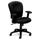 VL220 Series Mid-Back Task Chair, Black BSXVL220VA10