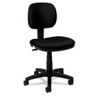 VL610 Series Swivel Task Chair, Black Fabric/Black Frame BSXVL610VA10
