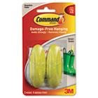 Designer Hooks, Plastic, Green Grass, 2 Hooks & 4 Strips/Pack MMM17081GG