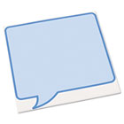 Peel & Stick Dry Erase Decals, Quotes, 10 x 10 Sheets, Blue, 3/Pack AVE24308