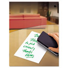 Peel & Stick Dry Erase Sheets, 10 x 10, White, 5/Pack AVE24304